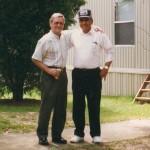John and Air Force buddy John Martinez