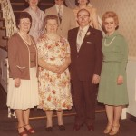 The Lipinski Family Front (left to right): Mary Paprota, Anna Lipinski, Peter Lipinski, Olga Sulewski Back: Ann Lasoski, John Lipinski, Dorothy Grozio