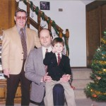 John with his son-in-law Ron and grandson Jeff