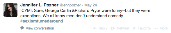 George Carlin & Richard Pryor, but they were the exceptions.