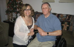 Lynn Lipinski and John Lipinski, Christmas 2010
