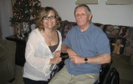 Lynn Lipinski and John Lipinski, Christmas 2010